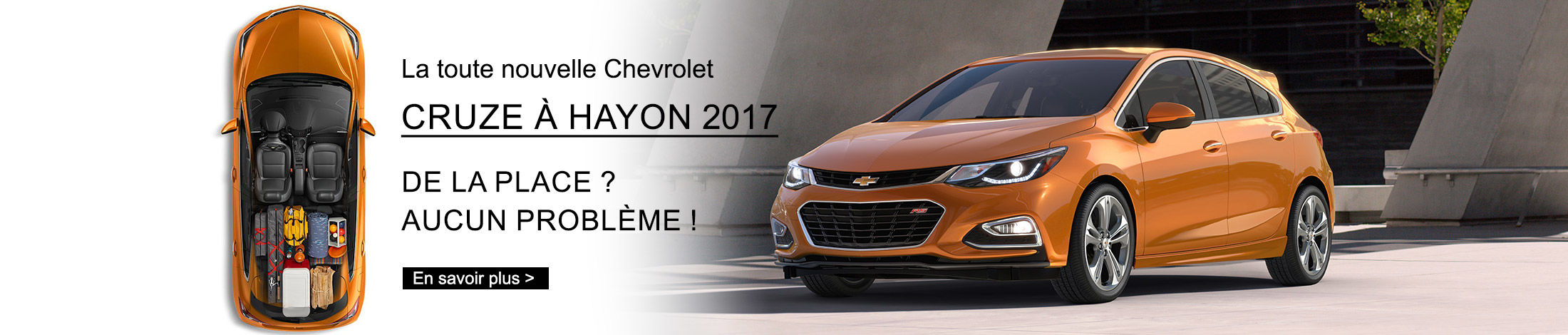 Header Chevrolet Cruze 2017