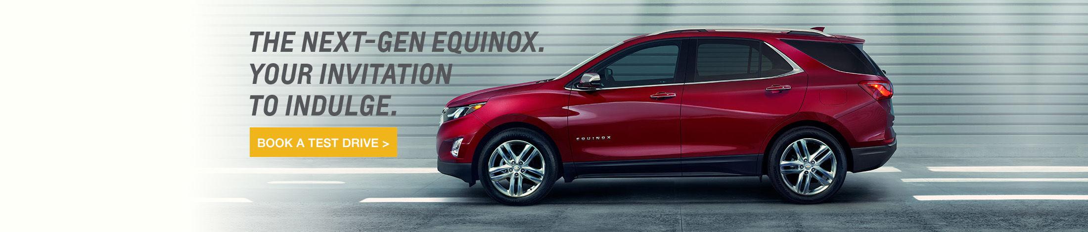 Header Chevrolet Equinox 2018