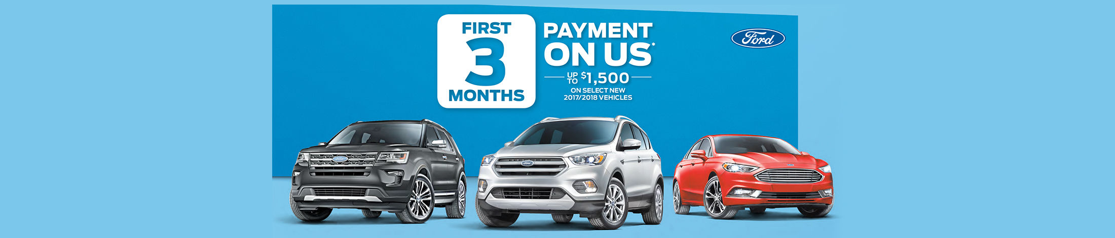 Payment on us 3 first months