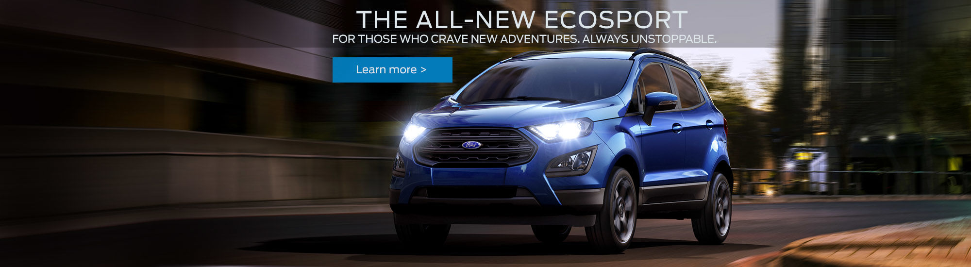 The all new Ecosport