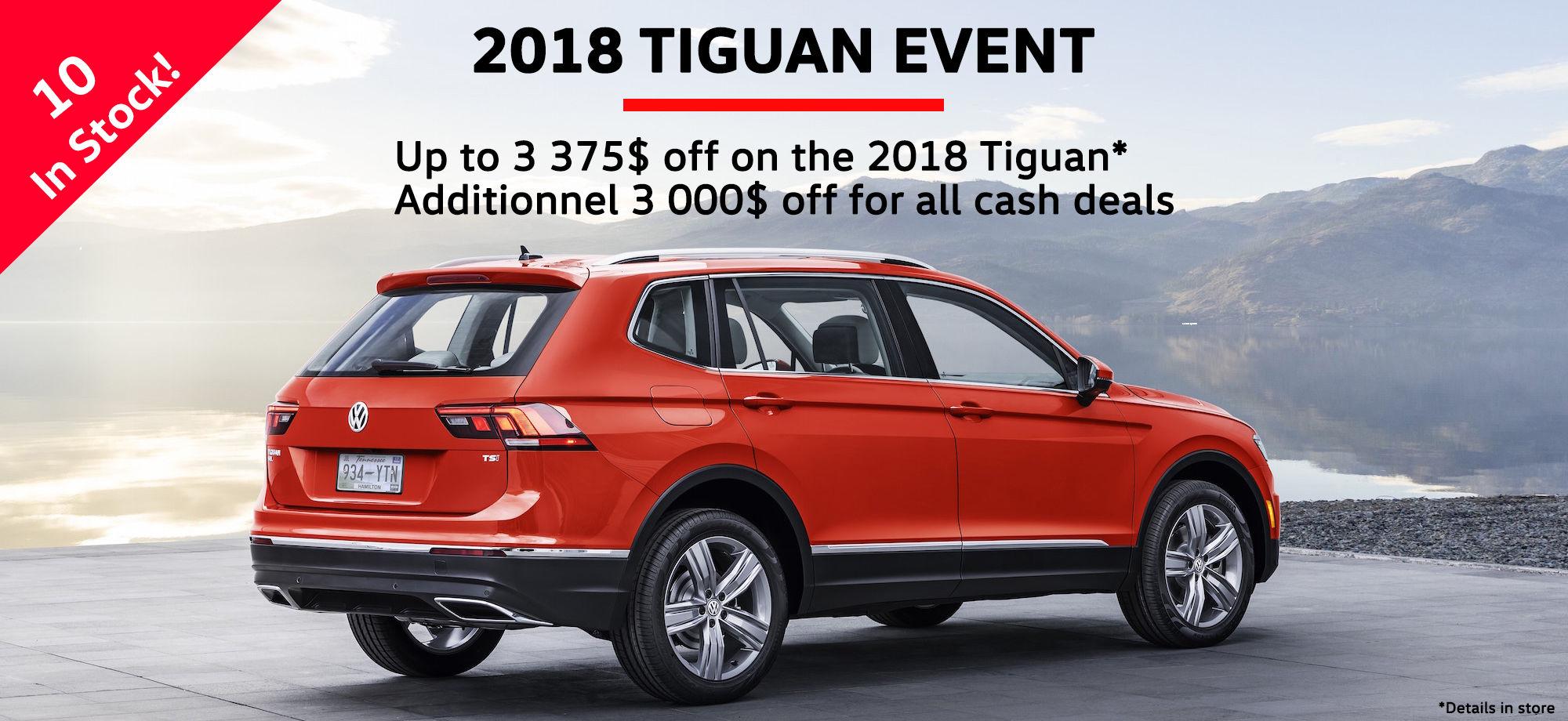 Tiguan 2018 Sales
