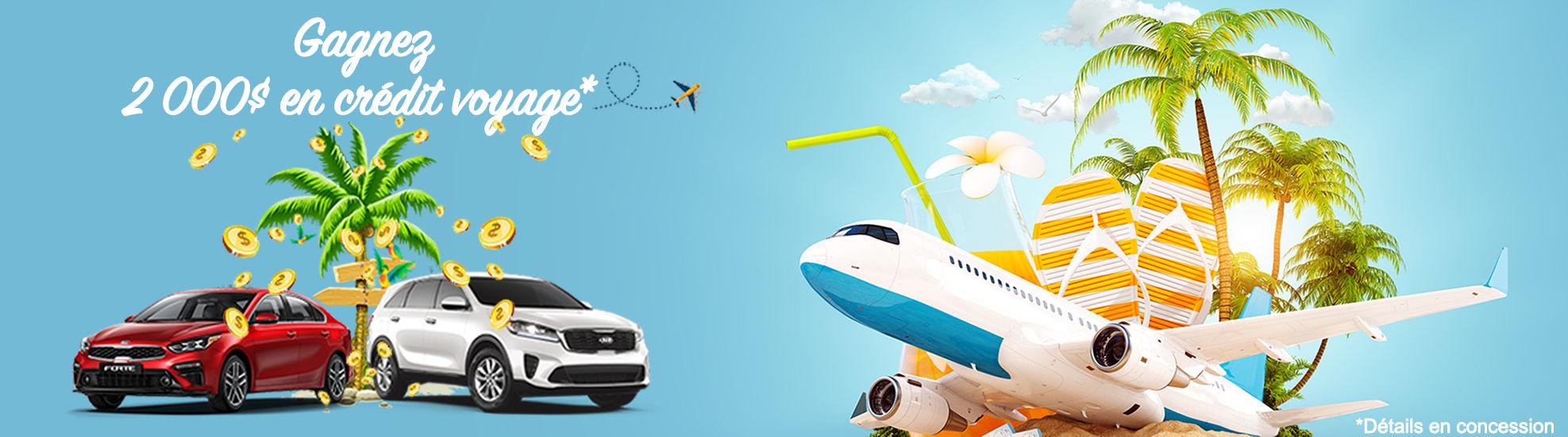 Concours crédit voyage