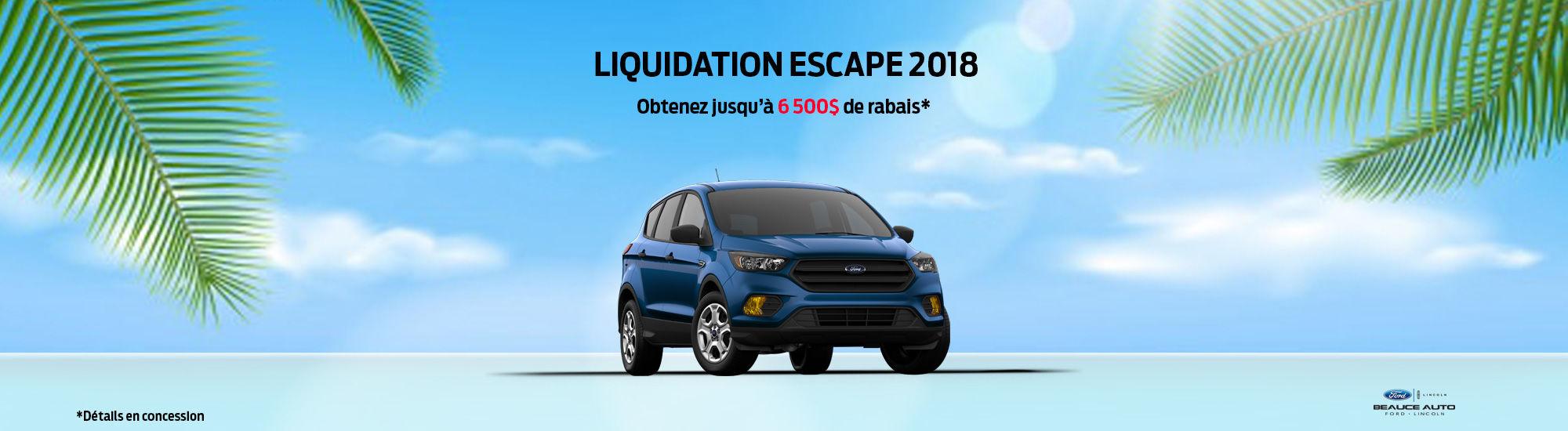 juillet escape 2018