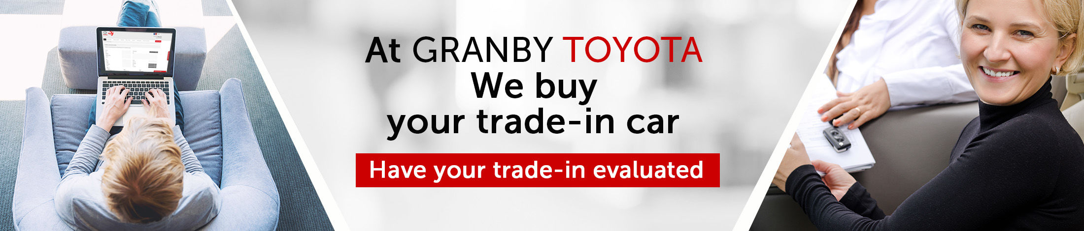We buy your trade-in car