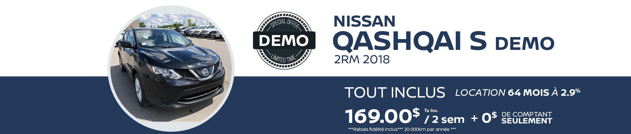 Qashqai S FWD Demo