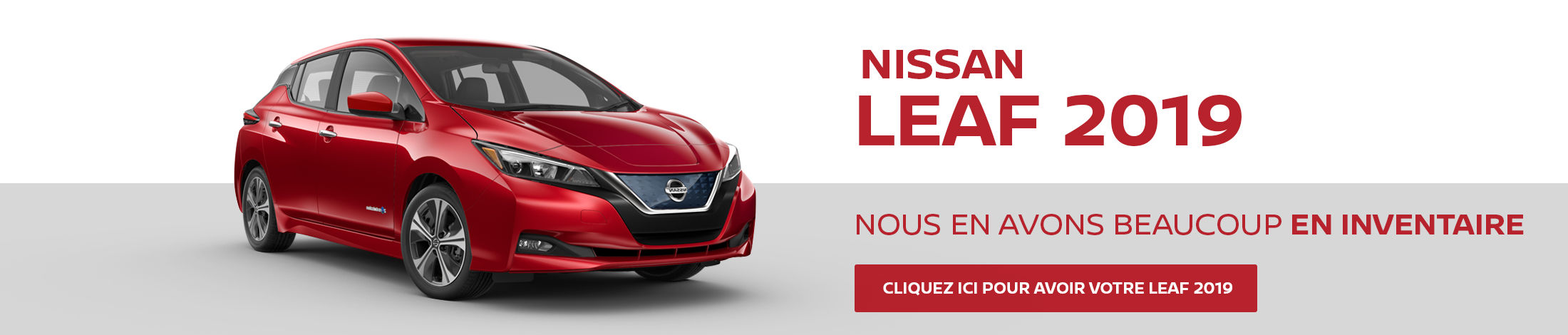 Nissan Leaf - Inventaire