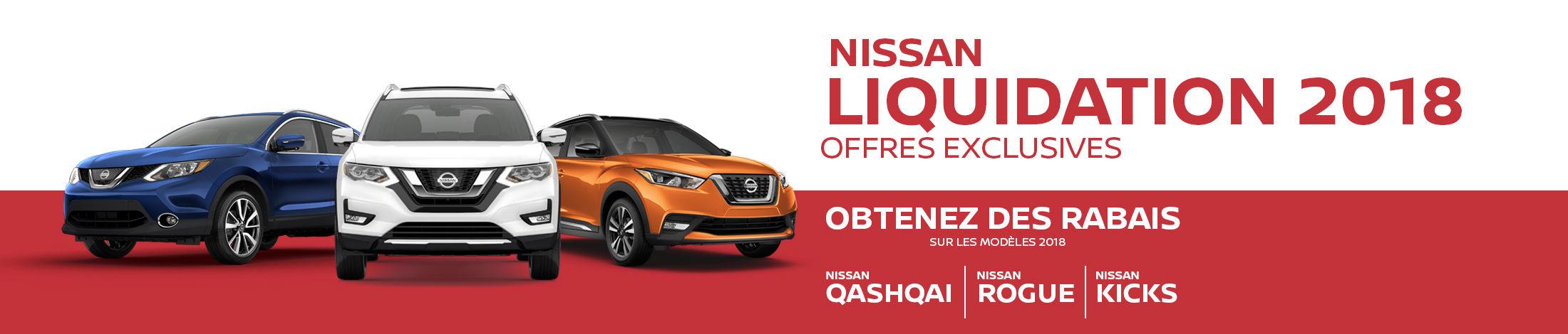 Nissan Liquidation 2018