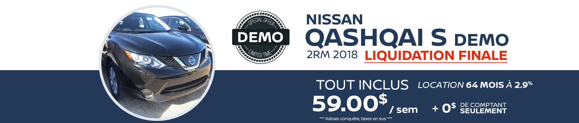 Qashqai S FWD Demo -2