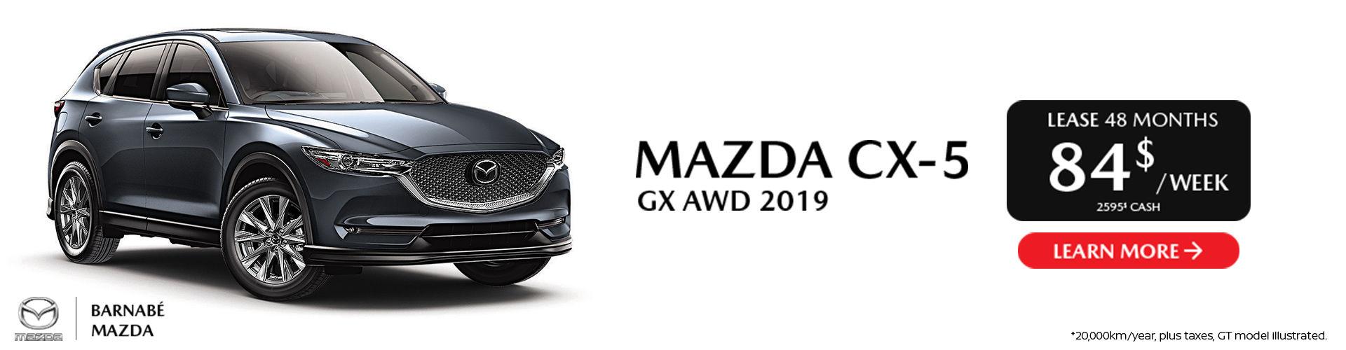 Mazda CX-5 2019 - St-Jean
