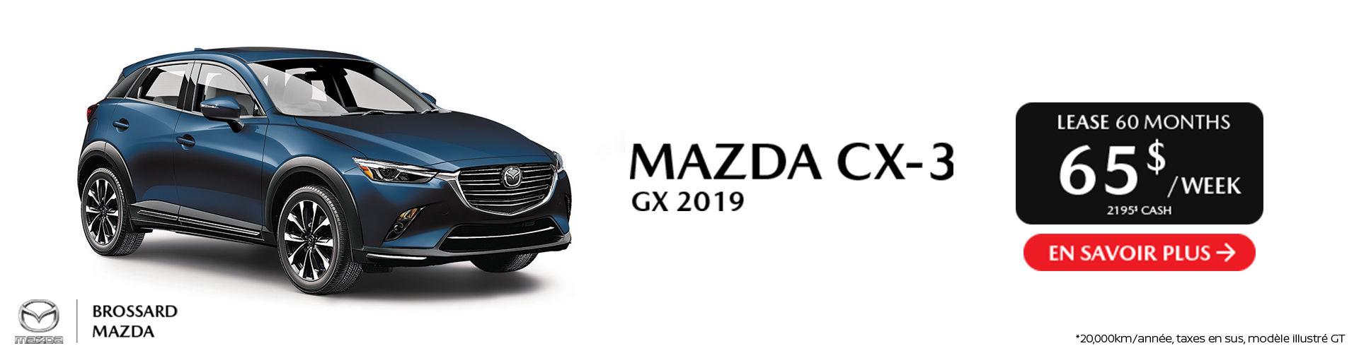 Mazda CX-3 2019- St-Jean