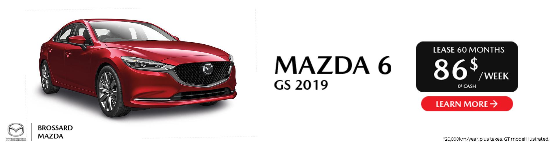 Mazda 6 GS 2019