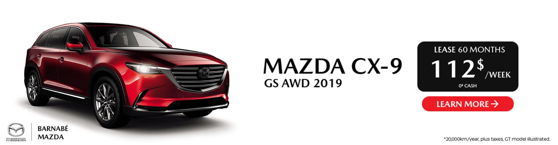 Mazda CX-9 2019 St-Jean