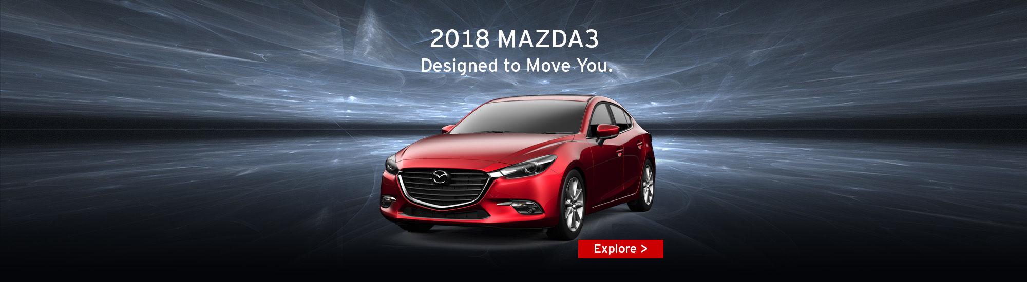2018 Mazda3 Designed to move you