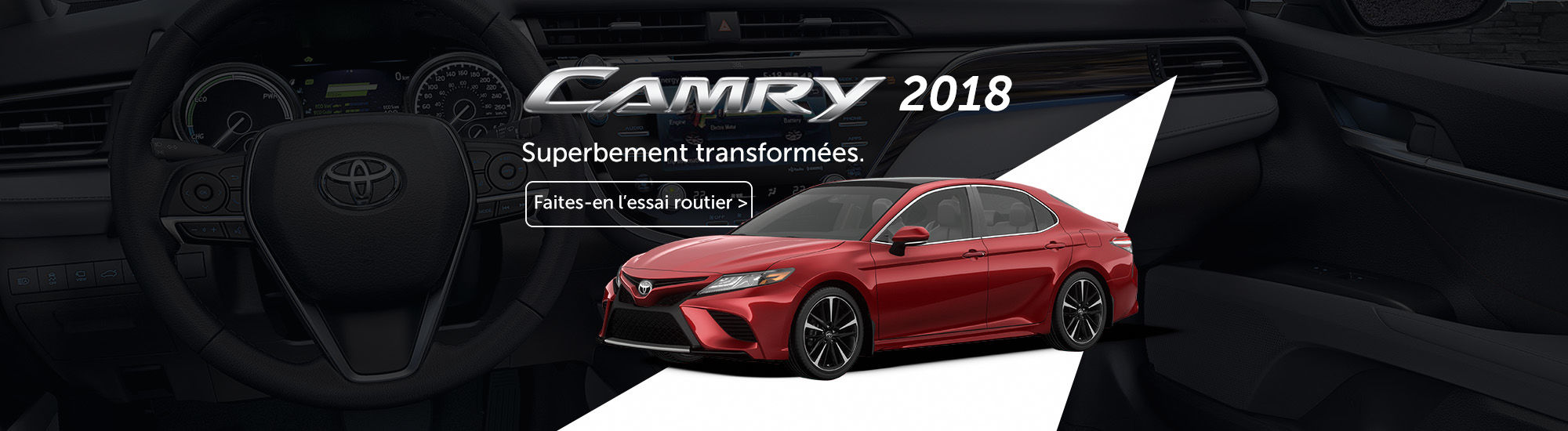 Camry 2018 superbement transformée
