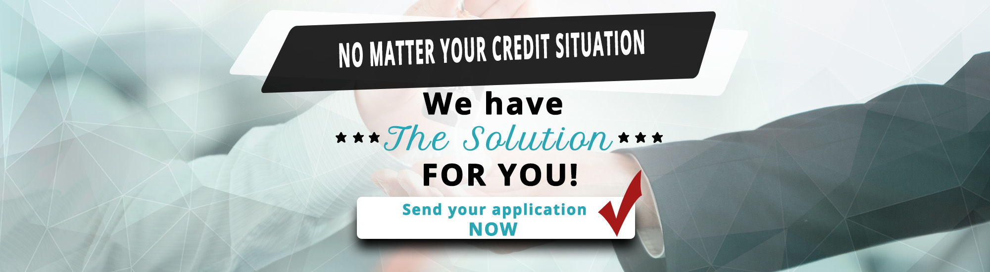 No matter your credit situation