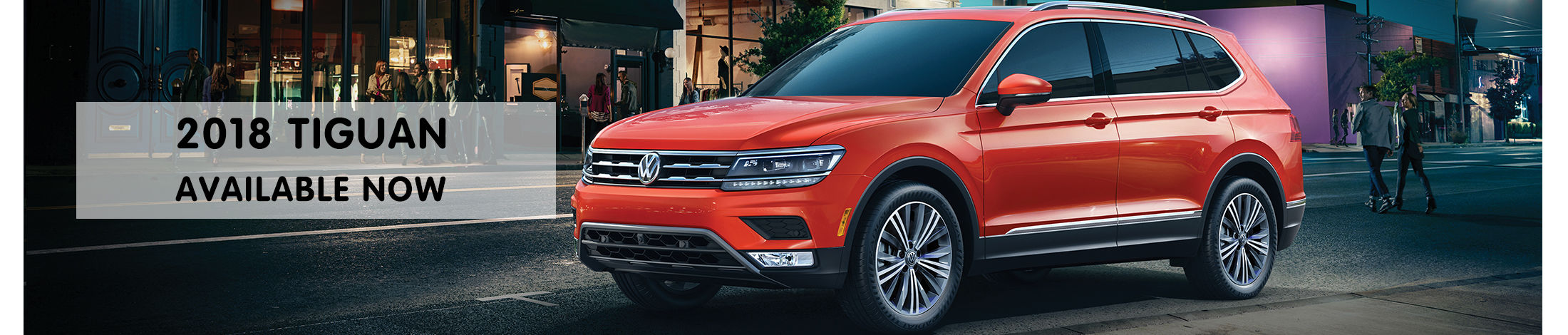 The All New Tiguan has arrived!