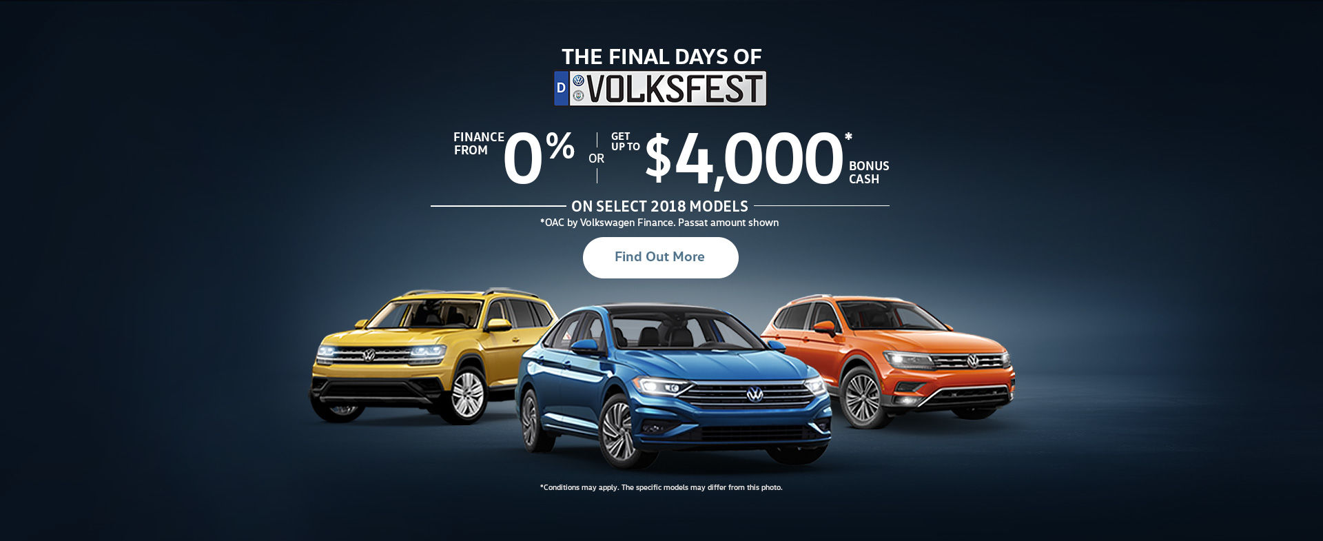 The Volkswagen Monthly Sales Event! (QC)