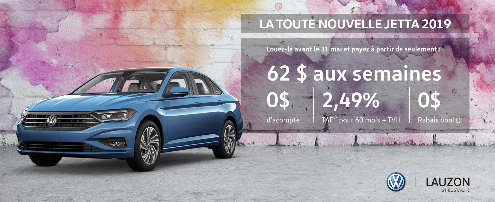 Promotion mai 2018 Volkswagen Jetta 2019 VW Lauzon St-Eustache