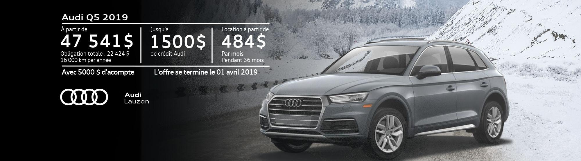 Audi Q5 mars 2019