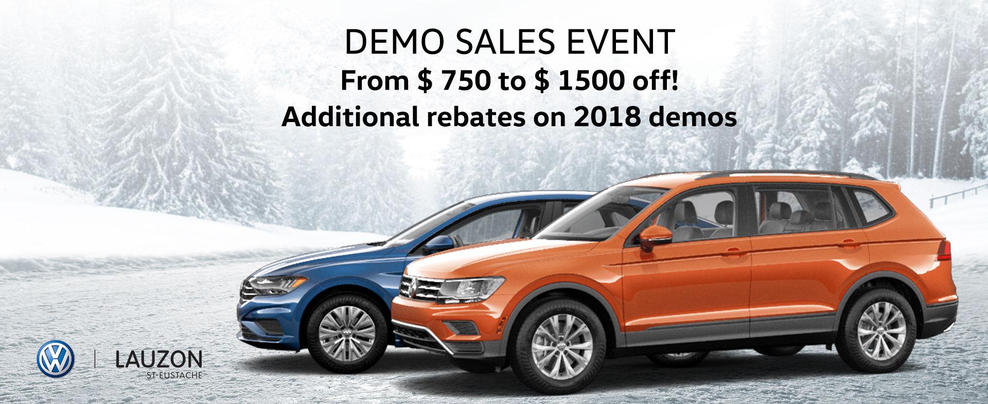 VW Demo Event