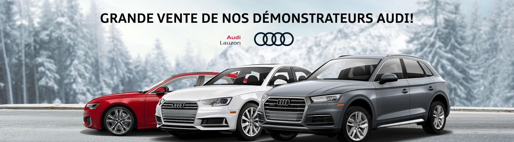 Audi Vente démos