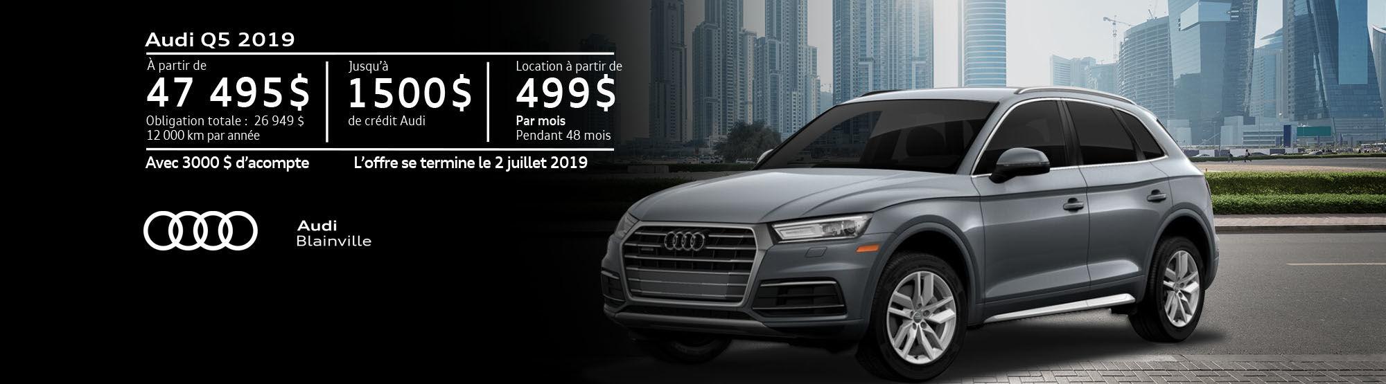 Audi Q5 juin 2019