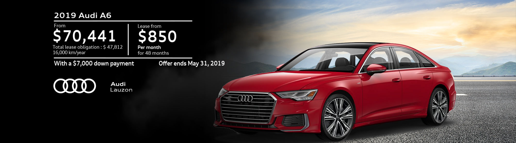 Audi A6 May 2019