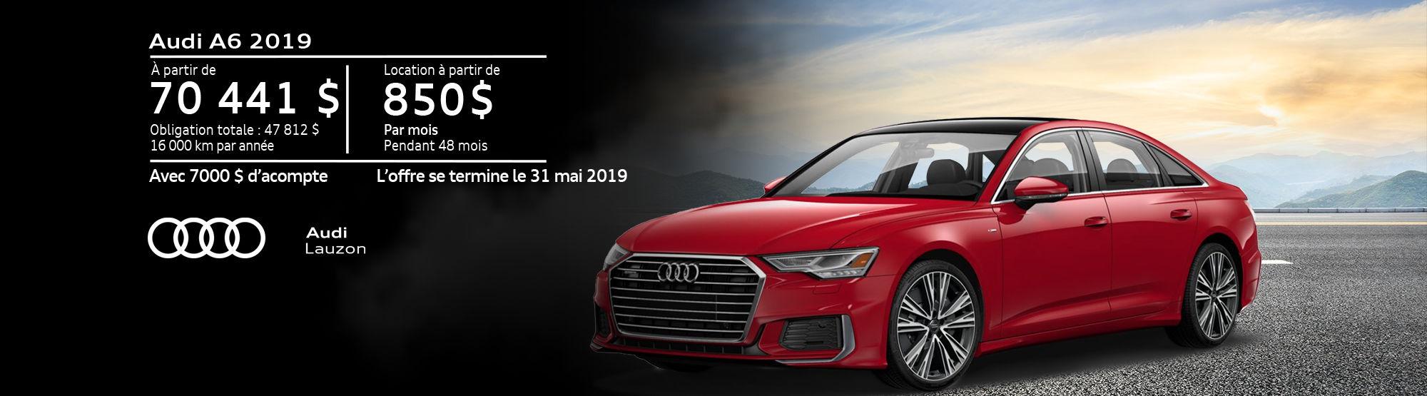 Audi A6 mai 2019