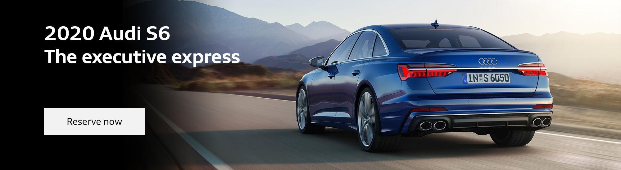 The all-new 2020 Audi S6 sedan