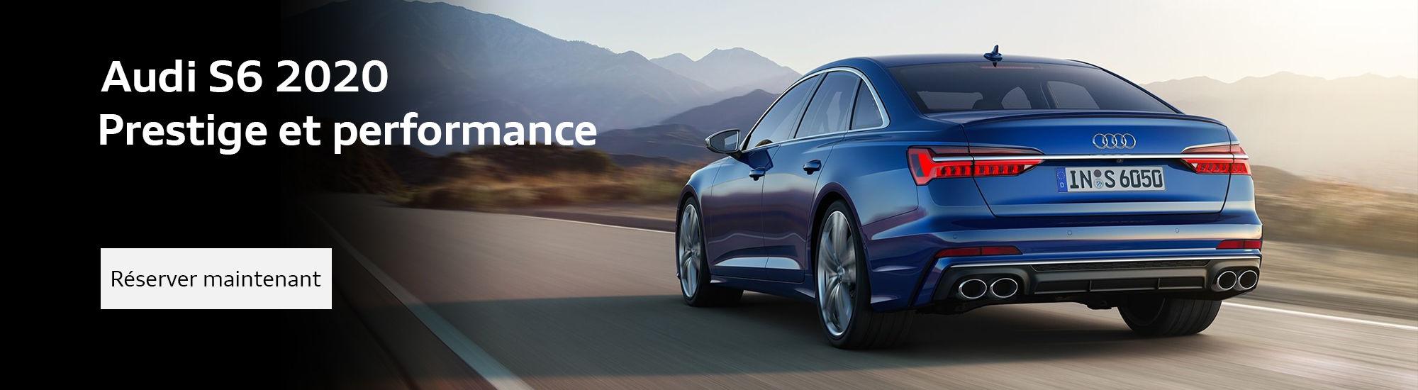 La toute nouvelle Audi S6 2020