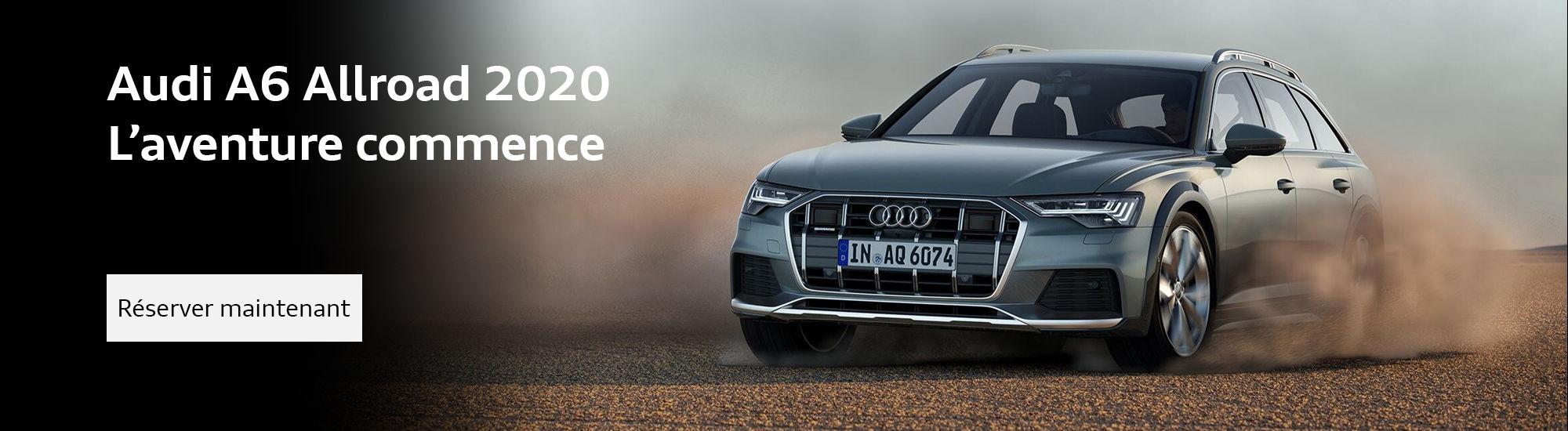 La toute nouvelle Audi A6 Allroad 2020 (Copie)