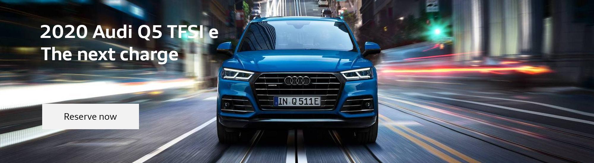 The all-new 2020 Audi Q5 TFSI e (Copy)