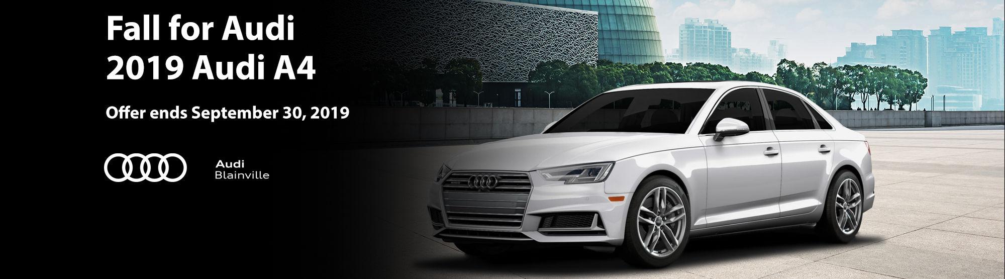 Audi A4 September 2019