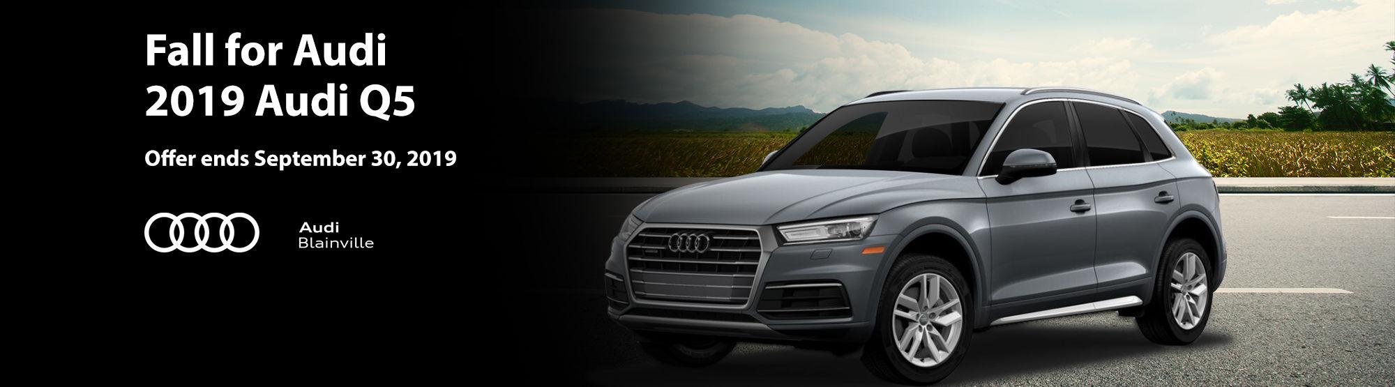 Audi Q5 September 2019