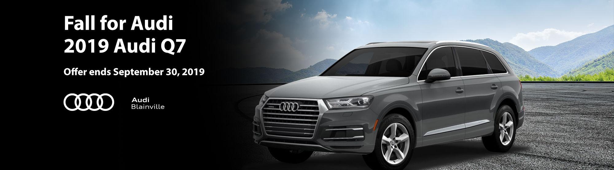 Audi Q7 September 2019