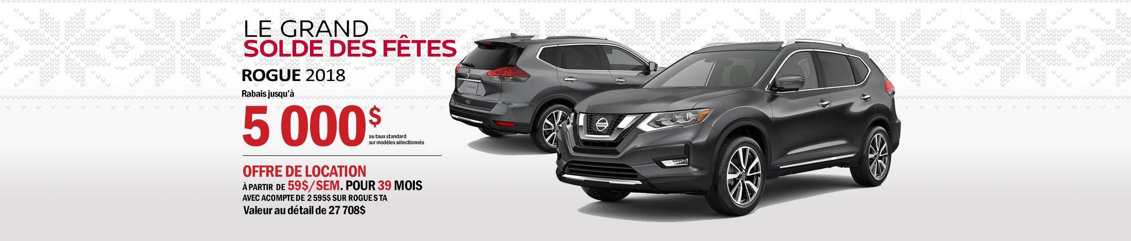 Nissan Rogue Promotion novembre