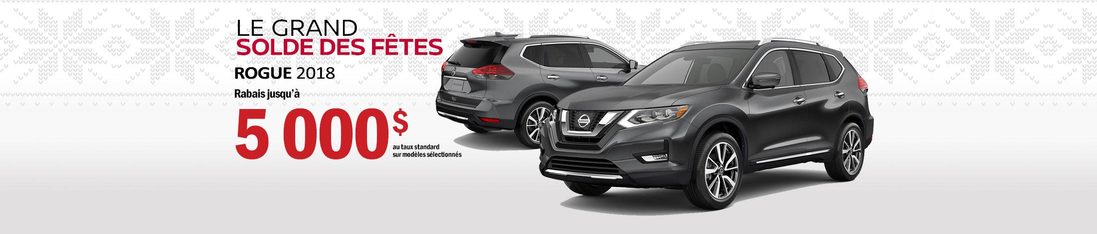 Nissan Rogue Promotion decembre