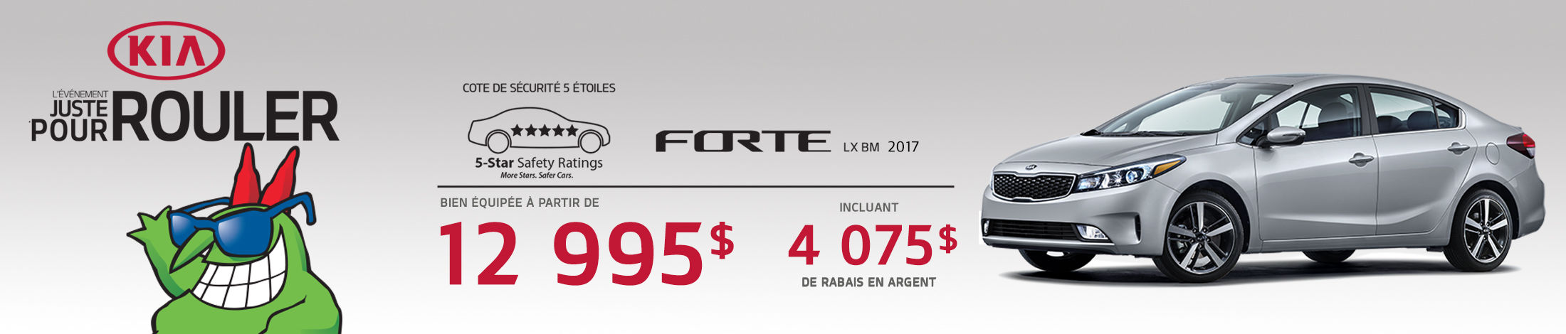 Kia Forte Promotion Juillet banner