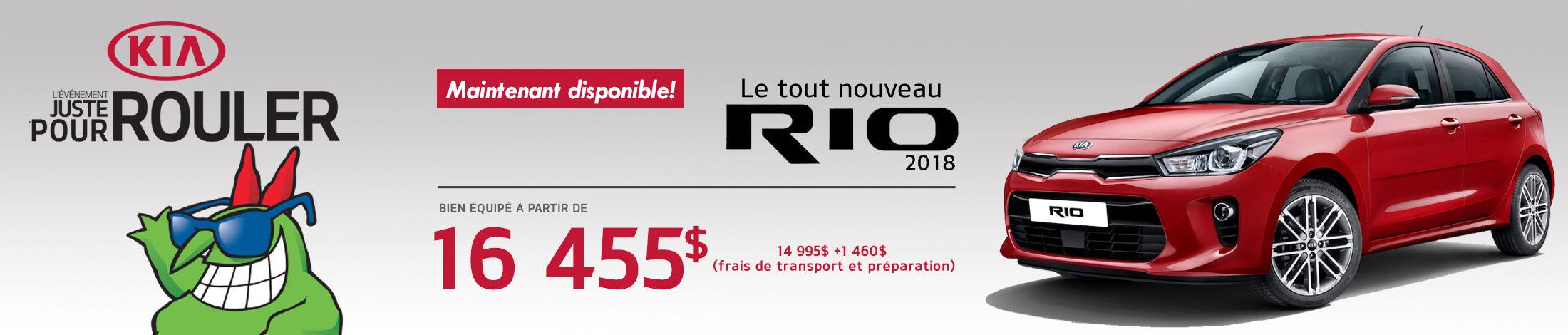 Kia Rio5 Promotion Aout banner
