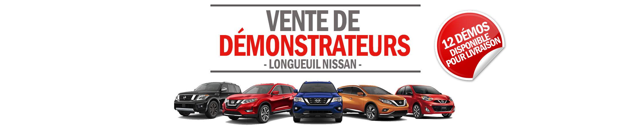 Démonstrateurs Nissan banner