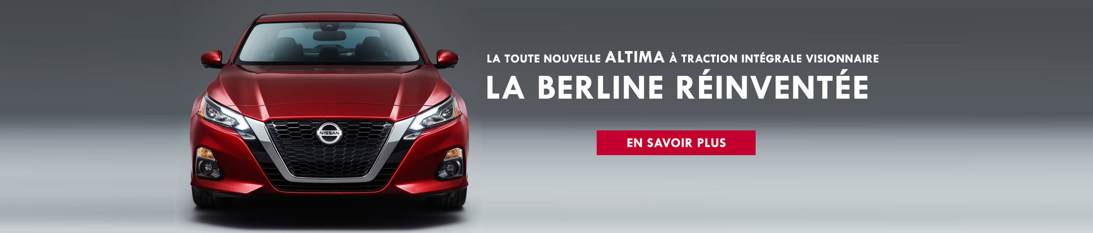 Nissan Altima 2019 banniere