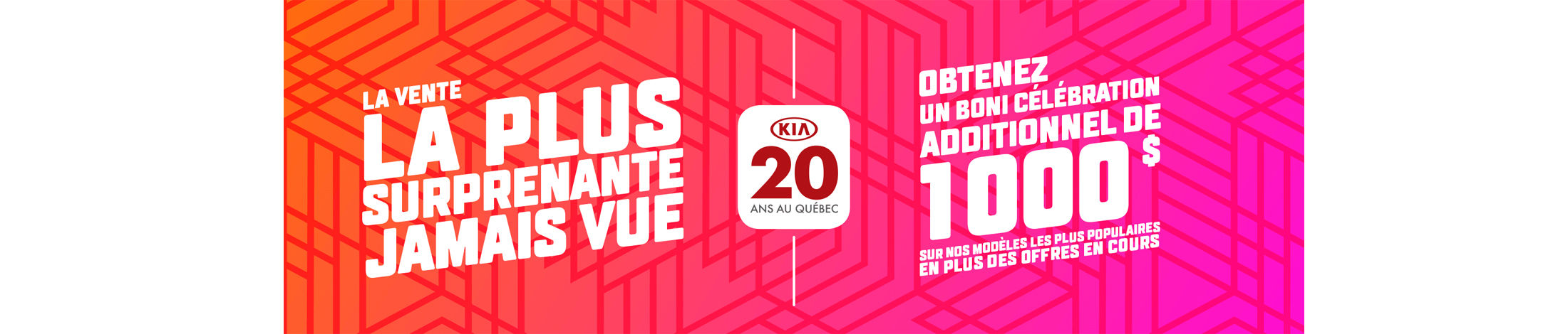 Kia Promotion mars banner
