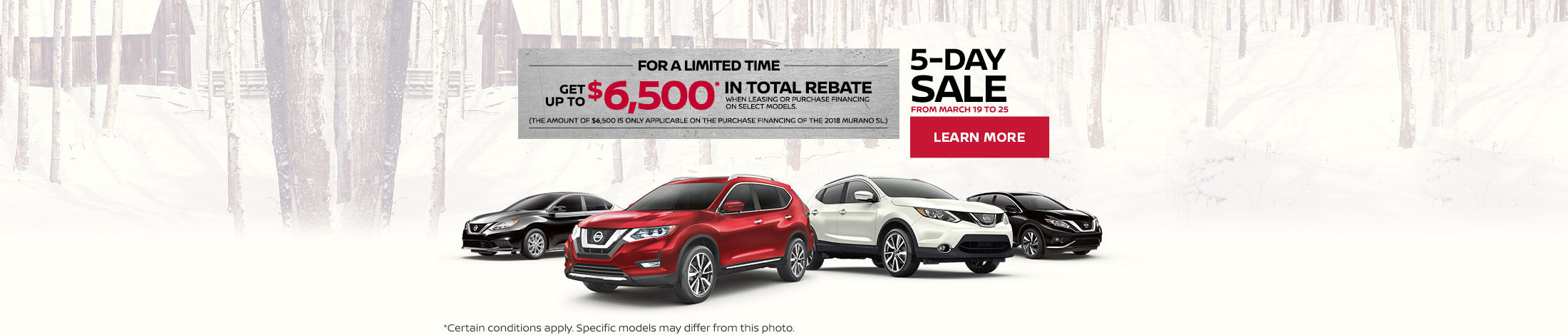 Nissan monthly event (Betty-QC)