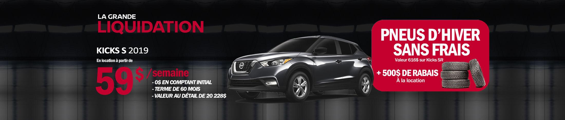 Nissan Kicks promotion banner