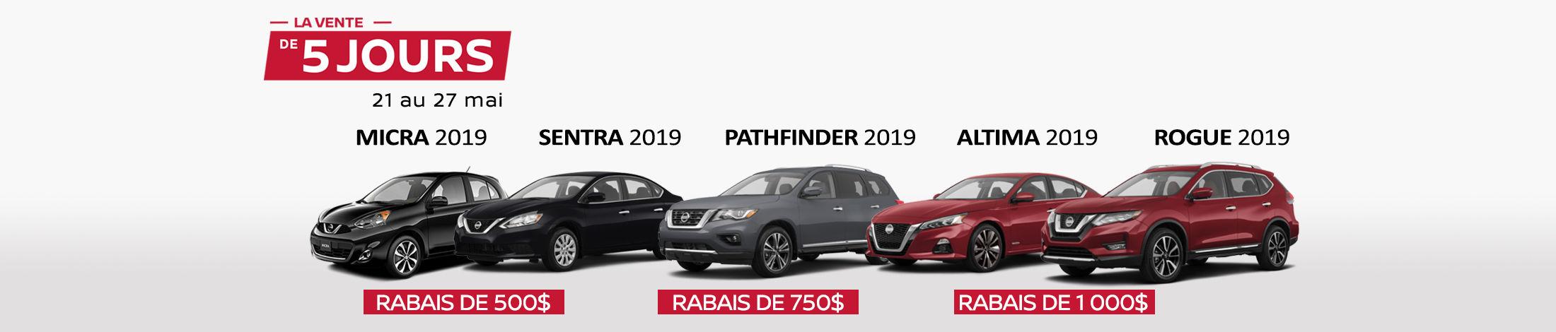 Nissan Promotion mai