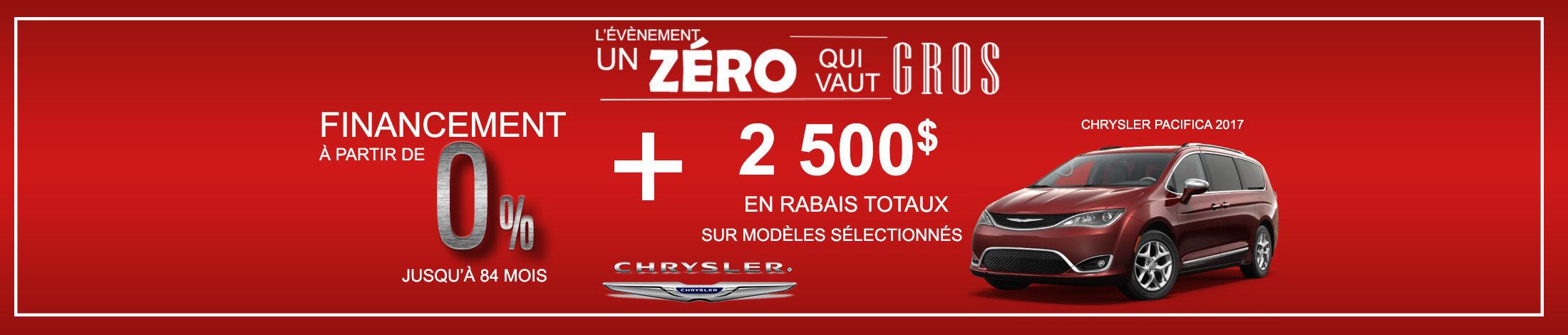 Header Chrysler offres du mois