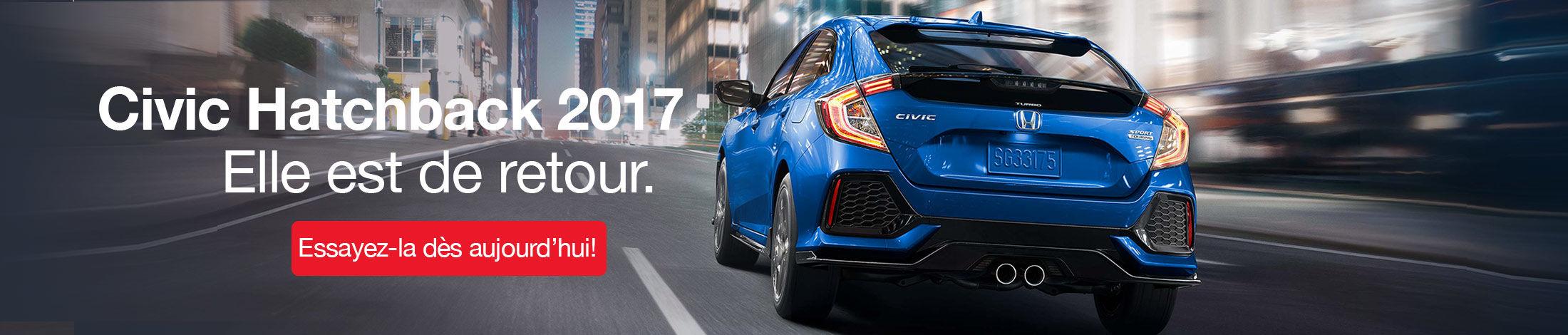 Civic Hatchback 2017