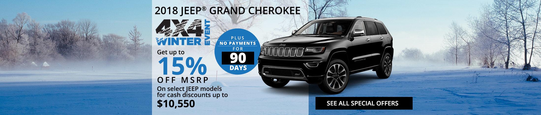 2018 Jeep Grand Cheroke