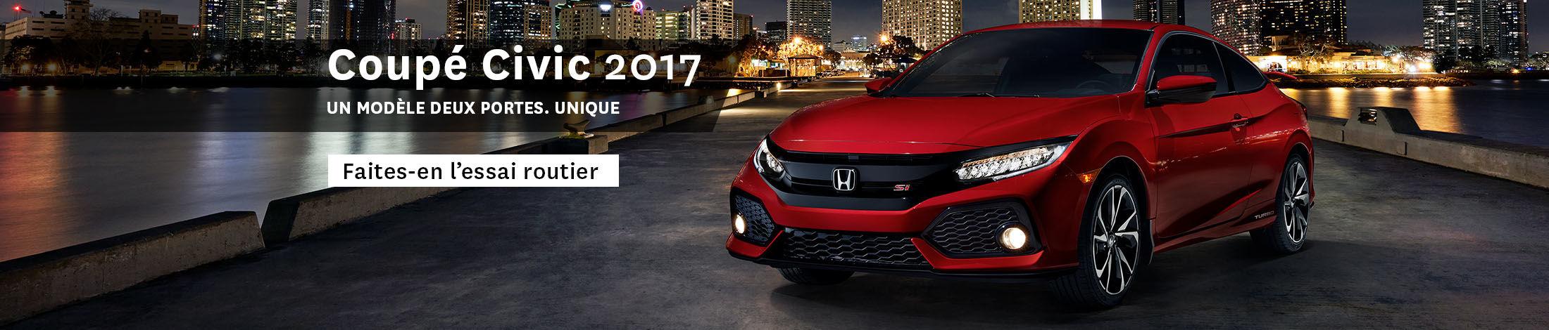 Civic coupé 2017