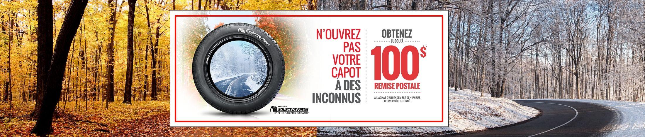 Programmez votre pose de pneus!